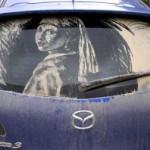 Автомобиль как холст (видео)